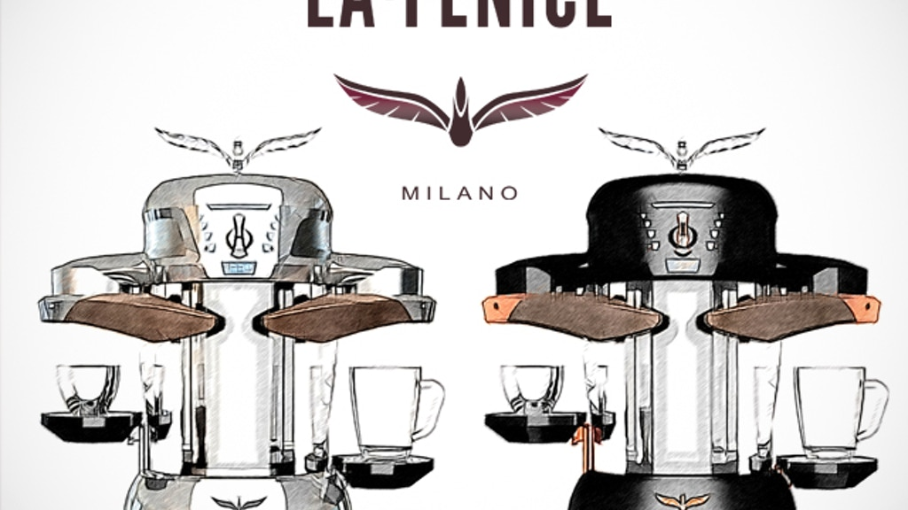 La Fenice: World's first Induction coffee machine project video thumbnail