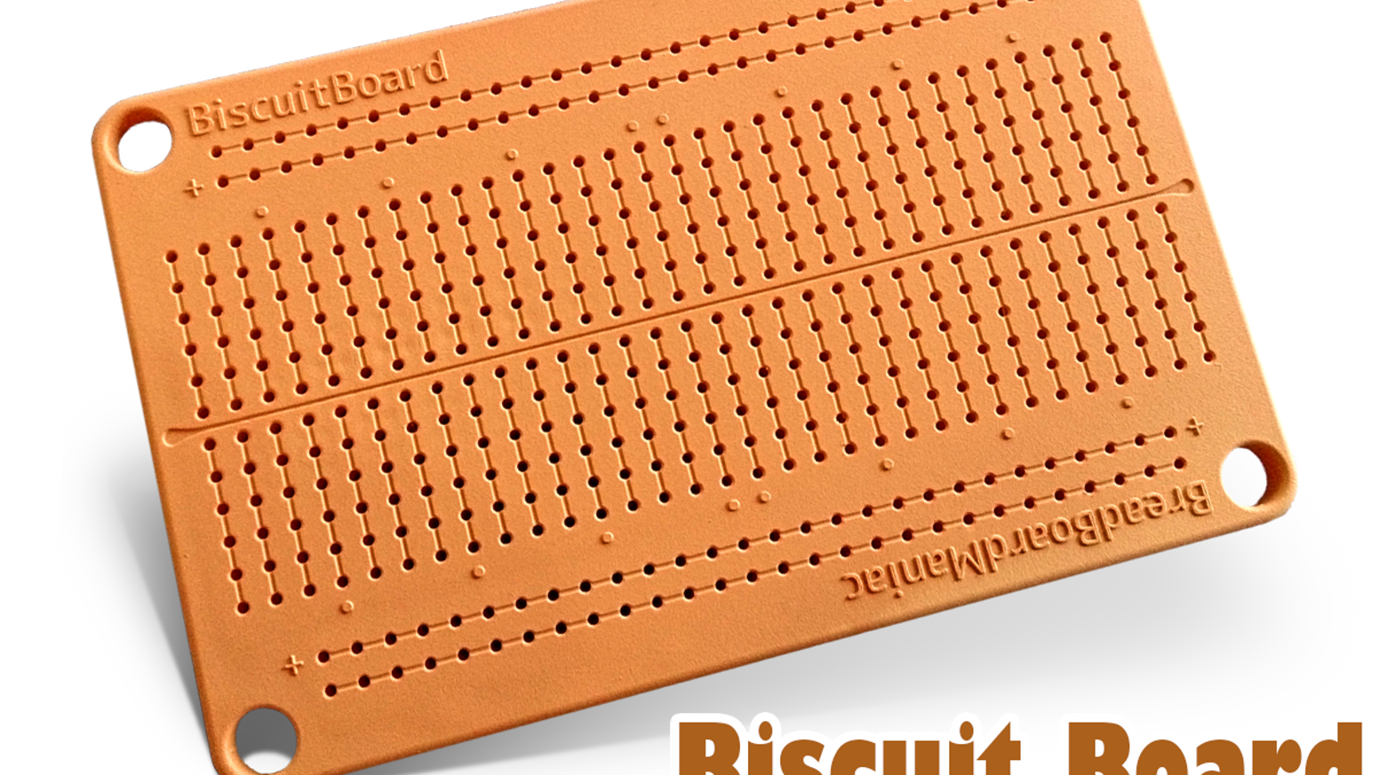 Biscuit Board Solderless Prototyping By Frentrep Kickstarter Bread Circuit