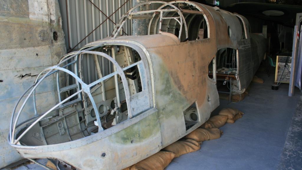 RAAF WW2 Beaufort Bomber A9-13 Restoration project video thumbnail