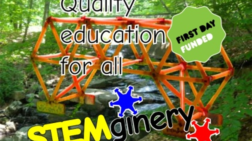 STEMginery - build, learn, play, make - straws & connectors project video thumbnail