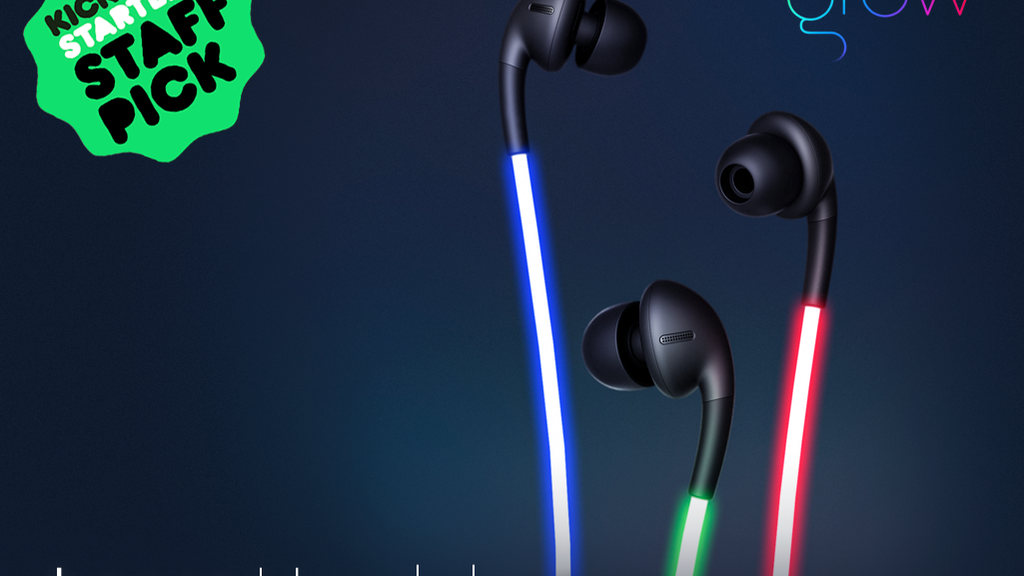 Glow: The First Smart Headphones with Laser Light project video thumbnail