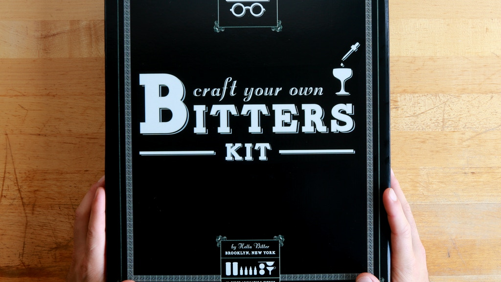 The Craft Your Own Bitters Kit project video thumbnail
