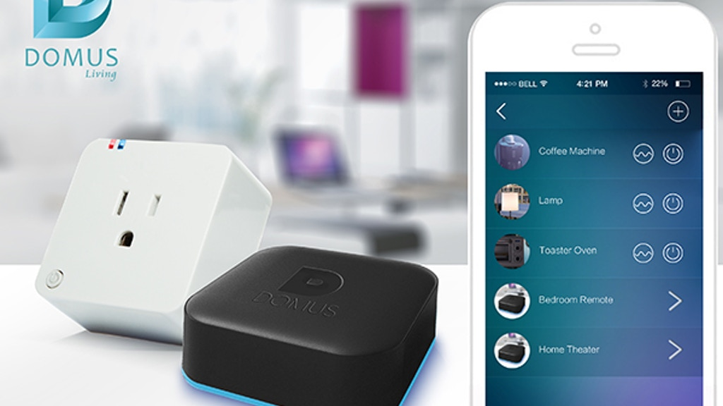 Domus Affordable Smart Home Automation Solution project video thumbnail