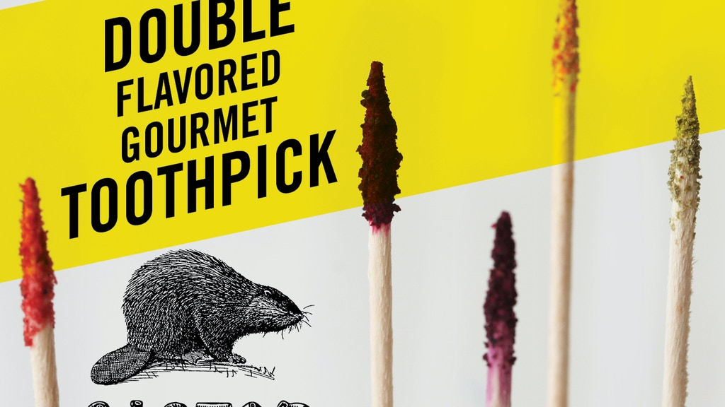 Castor → The Double Flavored Gourmet Toothpick project video thumbnail
