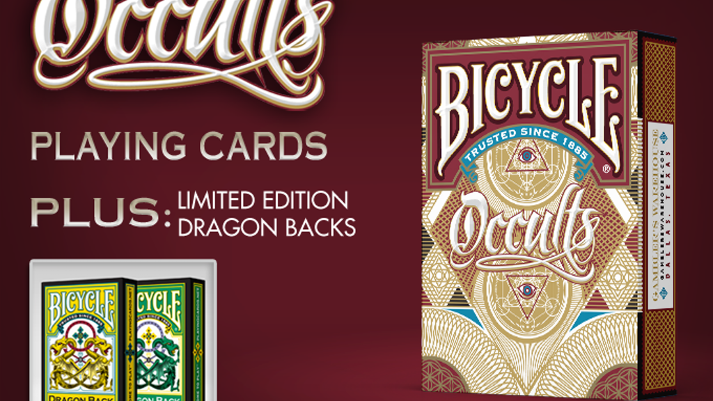 Bicycle Occults Playing Cards Deck project video thumbnail
