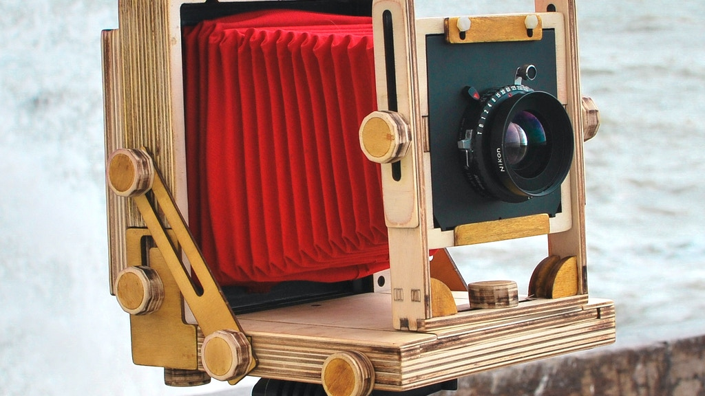 The Intrepid 4x5 Camera - An Affordable Large Format Camera project video thumbnail
