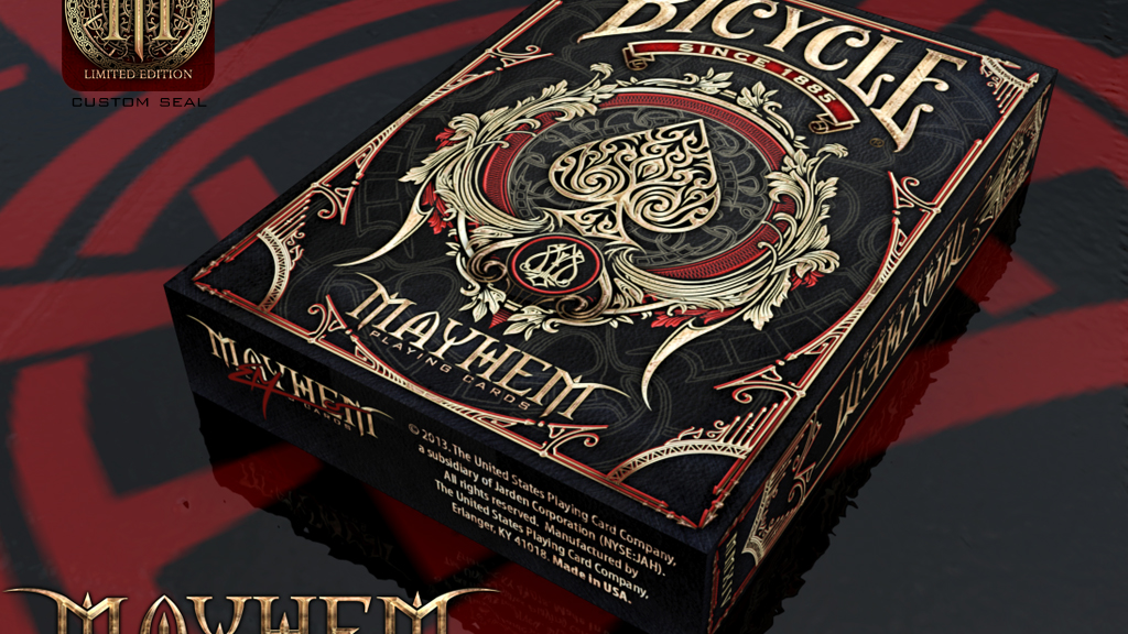 Bicycle Mayhem Playing Cards deck project video thumbnail