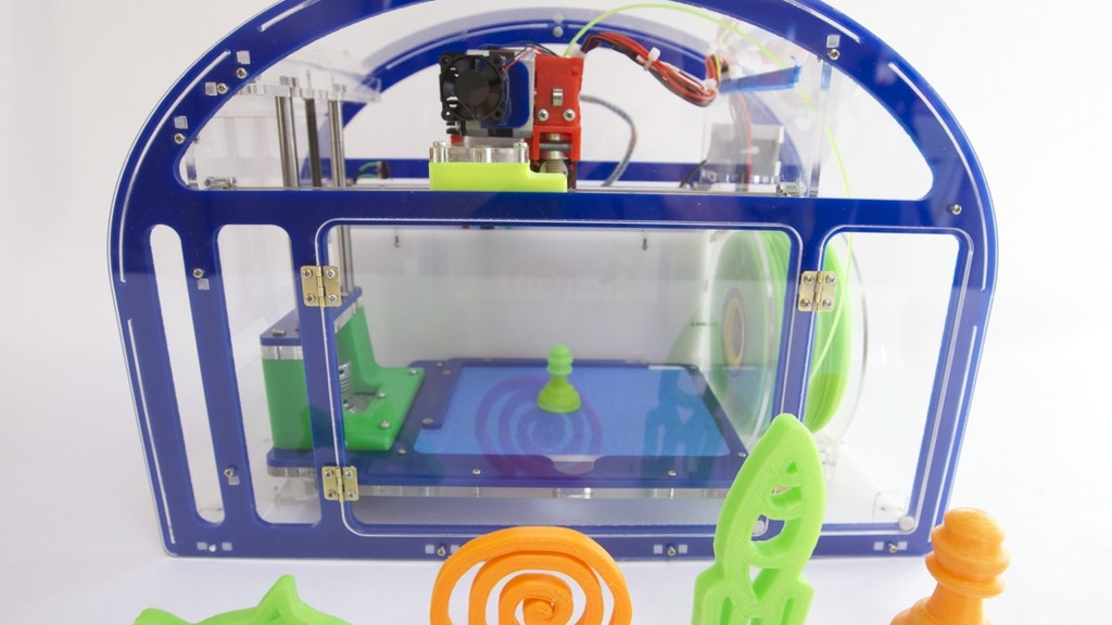 Printeer - a 3D printer for kids & schools project video thumbnail