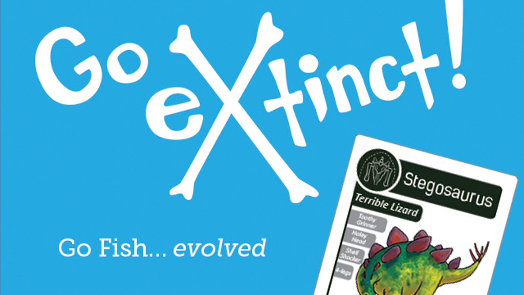 Go extinct go fish evolved by ariel marcy kickstarter for Play go fish