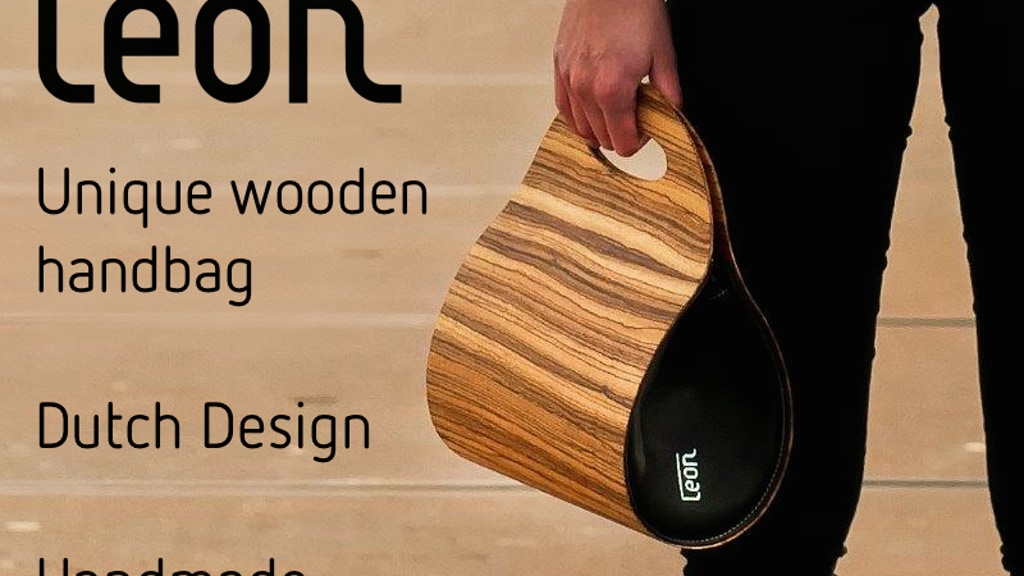 Unique wooden handbag.              Dutch Design. Handmade. project video thumbnail