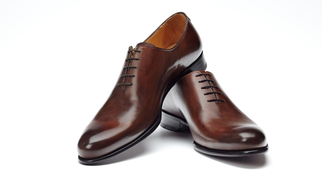 Project image for Paul Evans - Online Luxury Men's Footwear - Wholecut OXford