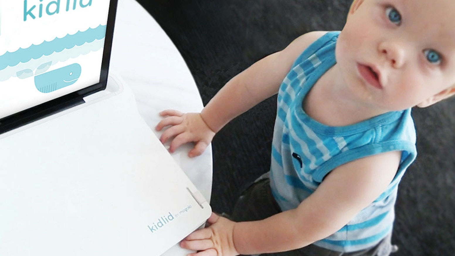 Kid Lid is a simple and innovative solution to protect the keyboard  when children use your laptop.