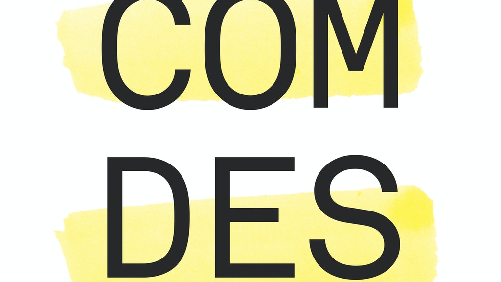 GSA Communication Design '14 Degree Show project video thumbnail