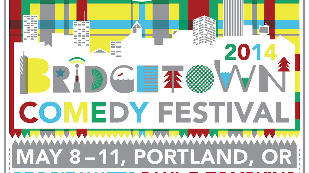 Art Poster For The 2014 Bridgetown Comedy Festival project video thumbnail