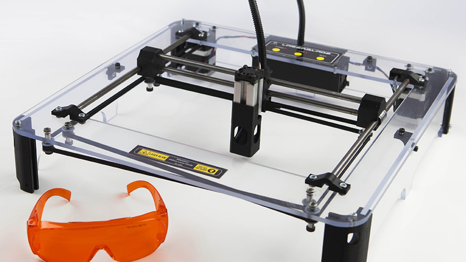 The affordable entry-level laser cutter / engraver for the maker, artist and hobbyist.