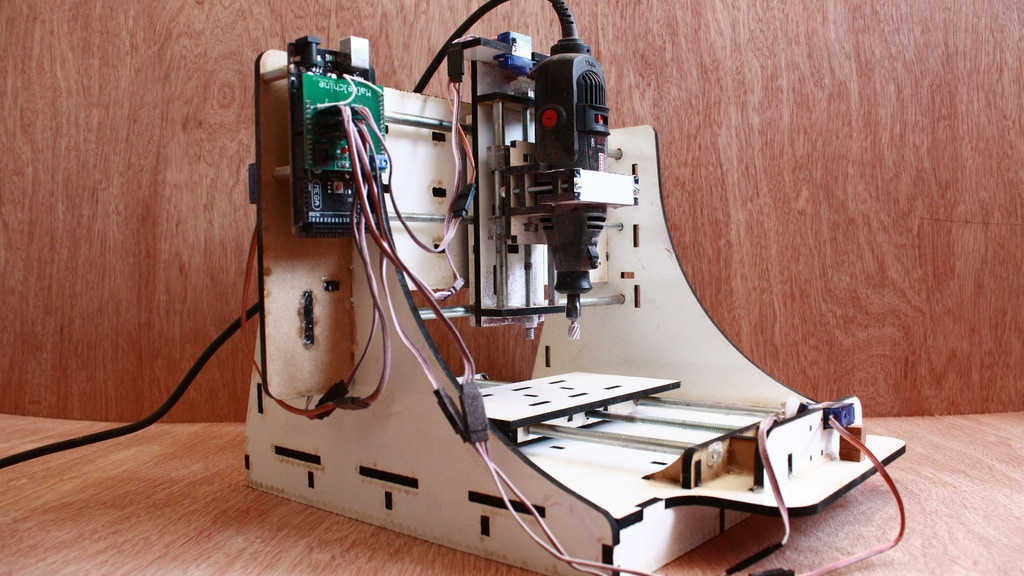 Makesmith CNC -  The Most Affordable Desktop CNC Router project video thumbnail