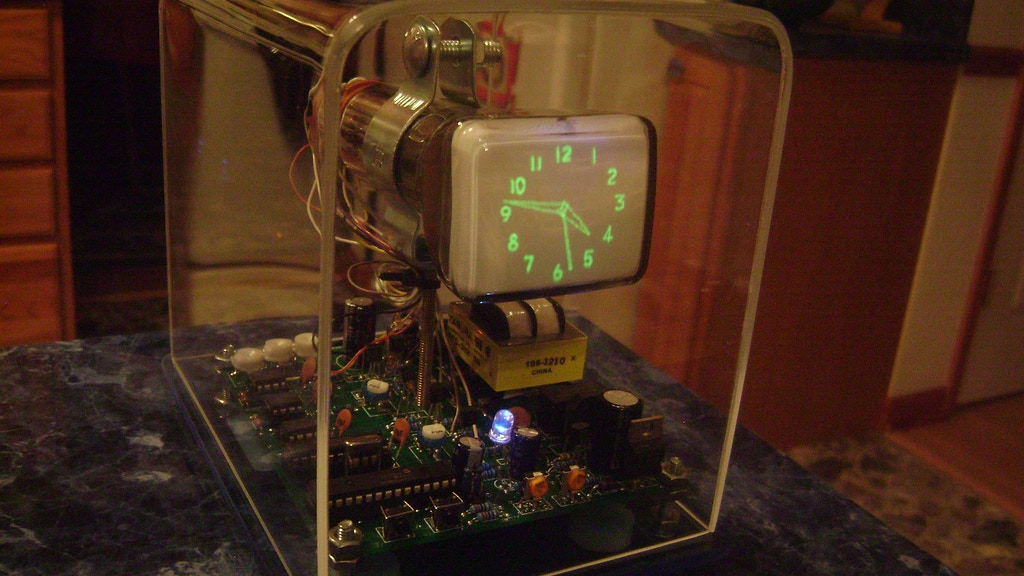 The Oscilloscope Clock project video thumbnail
