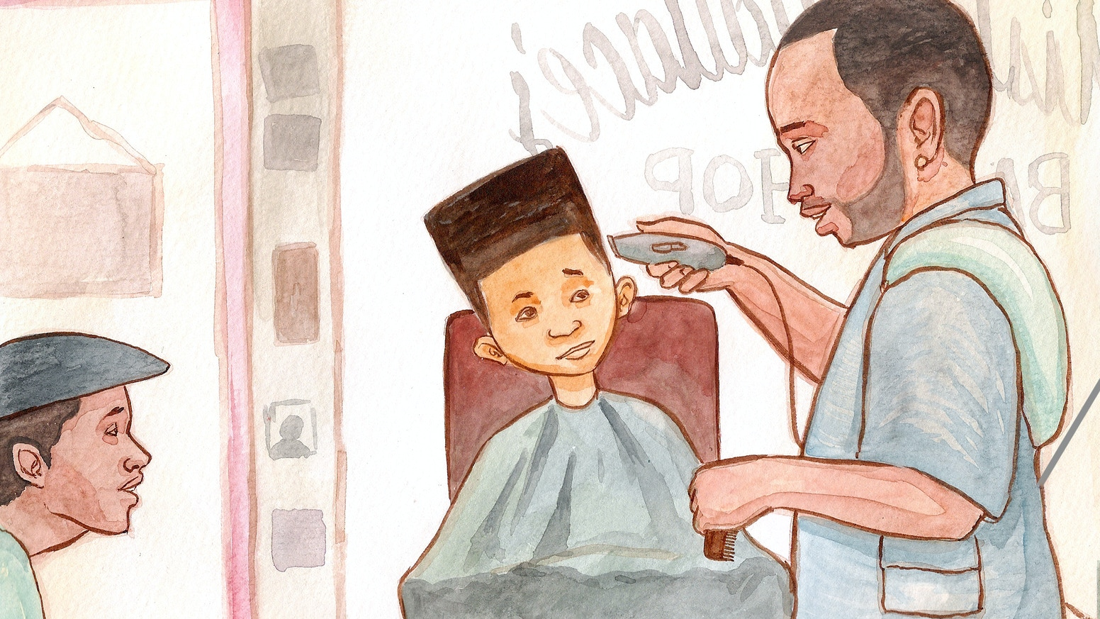 A bi-lingual story about a young boy, his first hair cut, and the trust built between a father and son.
