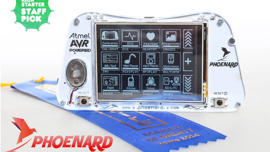 Phoenard: World's 1st Arduino-compatible Prototyping Gadget project video thumbnail