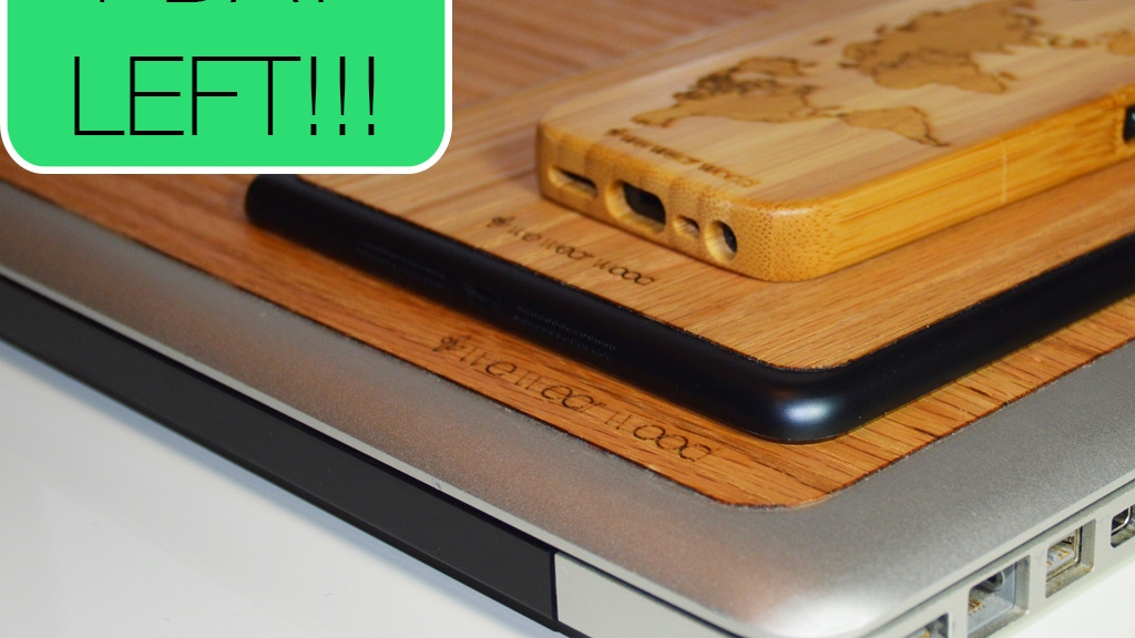 We Wear Wood - Natural Wood covers for your Apple Devices project video thumbnail