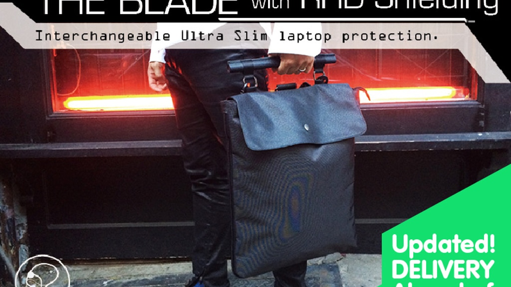 The Blade Bag : Interchangeable Ultra Slim laptop protection project video thumbnail