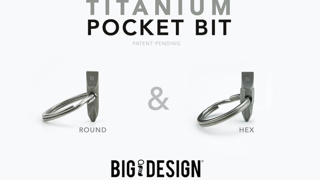 Titanium Pocket Bit :  Key Ring Screwdriver / EDC Multi-tool project video thumbnail