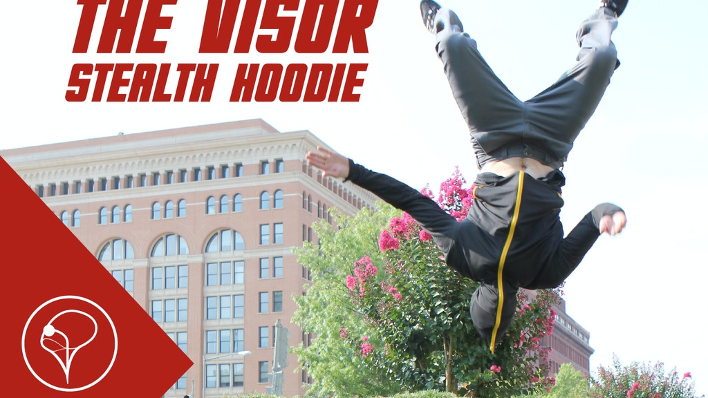 The Visor: Stealth Hoodie-Face Guard Hood with Clear Vision project video thumbnail