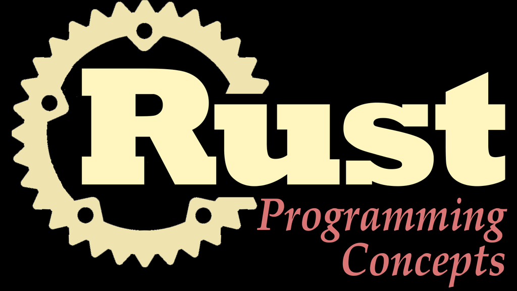 Rust Programming Concepts Book project video thumbnail