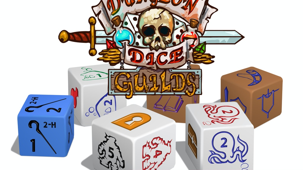 Dungeon Dice: GUILDS project video thumbnail