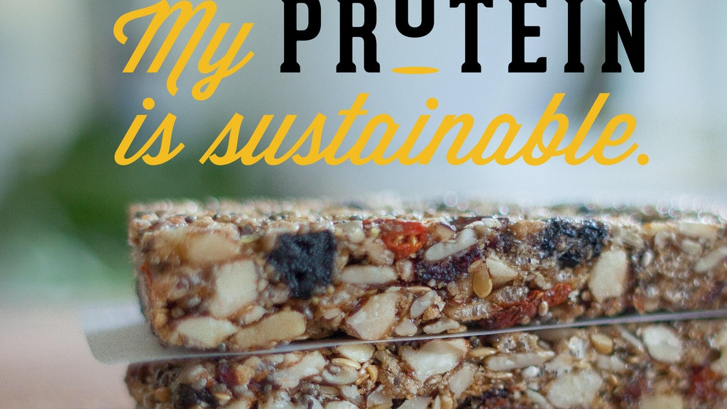 Hopper Cricket Bars. Sustainable Protein. Future Food! project video thumbnail