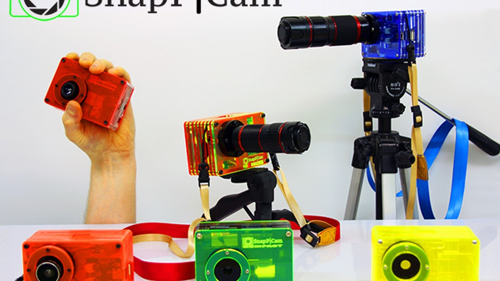 Project image for The SnapPiCam | A Raspberry Pi Digital Camera.