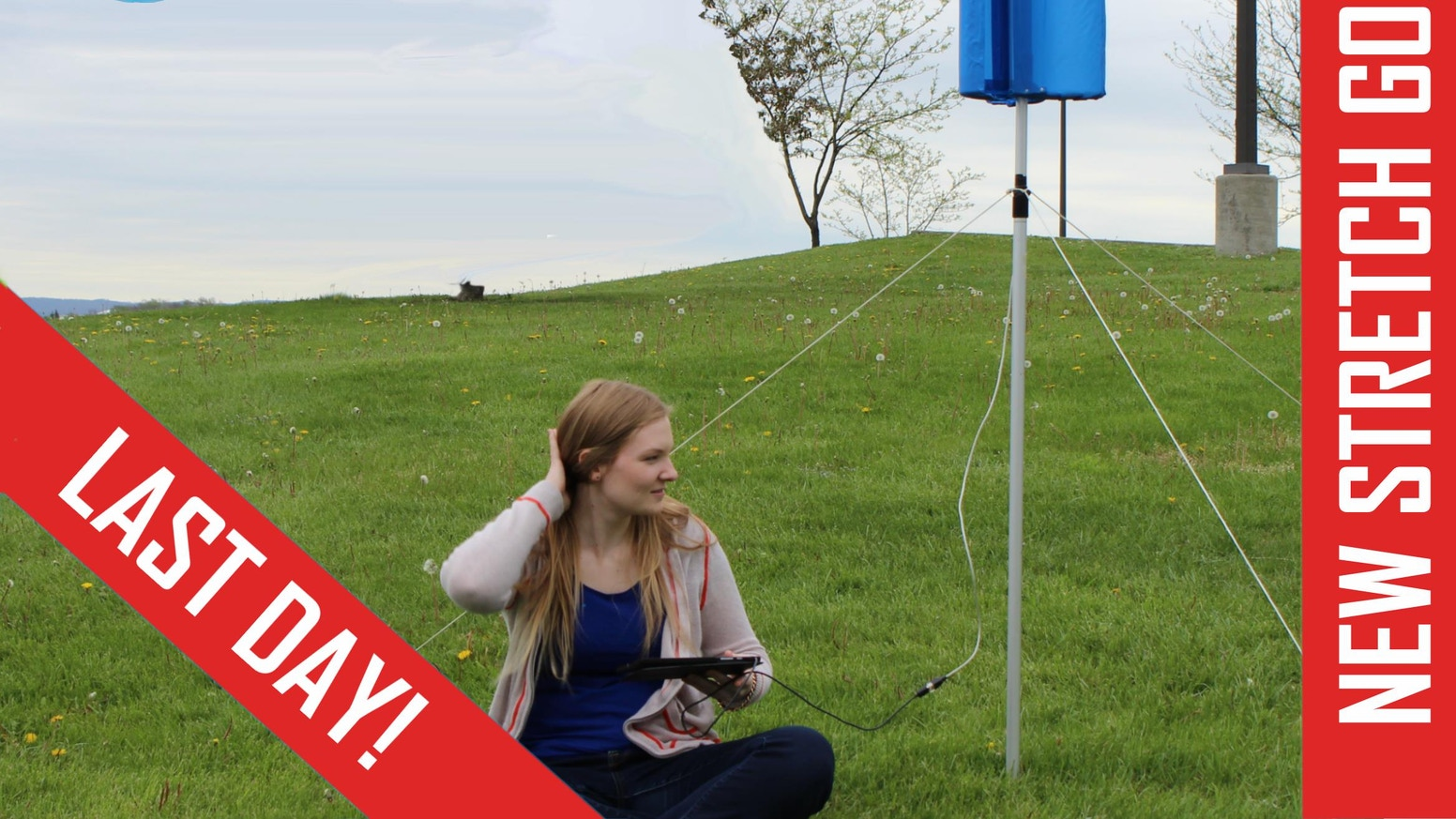 Collapsible, portable, light-weight wind turbines that go where you go.  Great for hiking, camping and more!