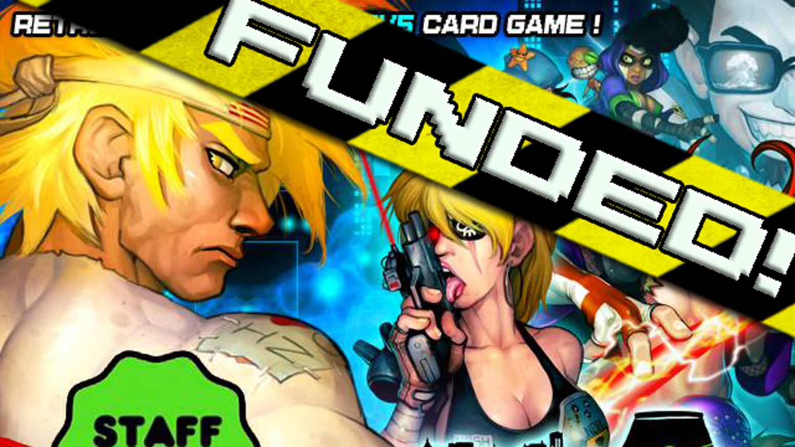 """N30N City RUMBLE is a """"beat 'em up"""" card game that simulates 5-on-5 tag team combat between mutant martial artists!"""