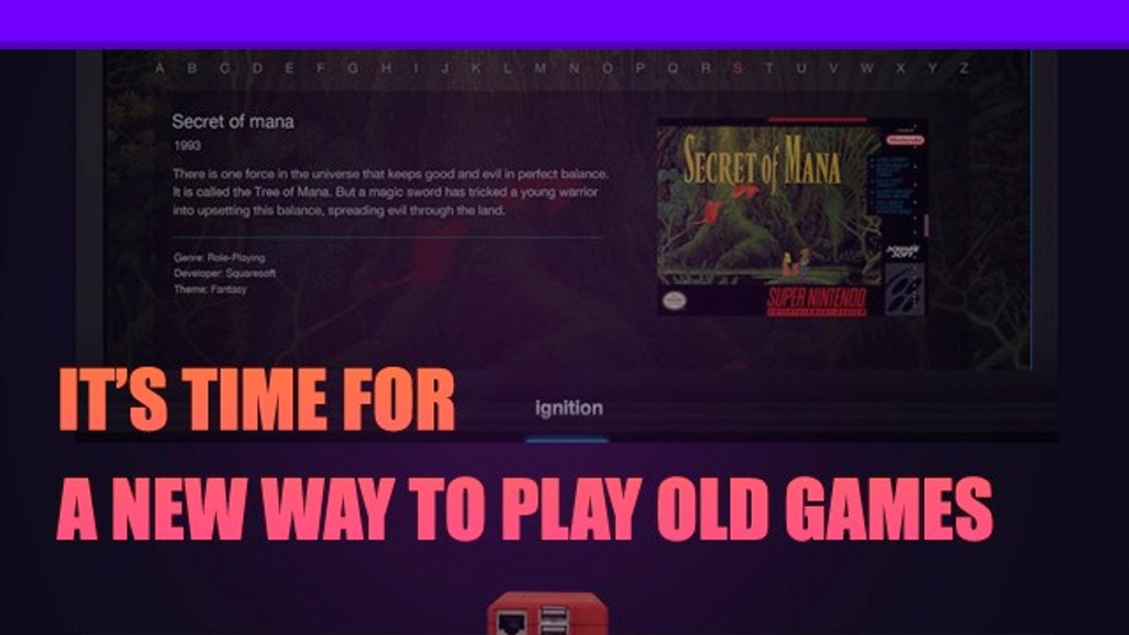 Ignition: A Social Retro Gaming OS for the Raspberry Pi project video thumbnail