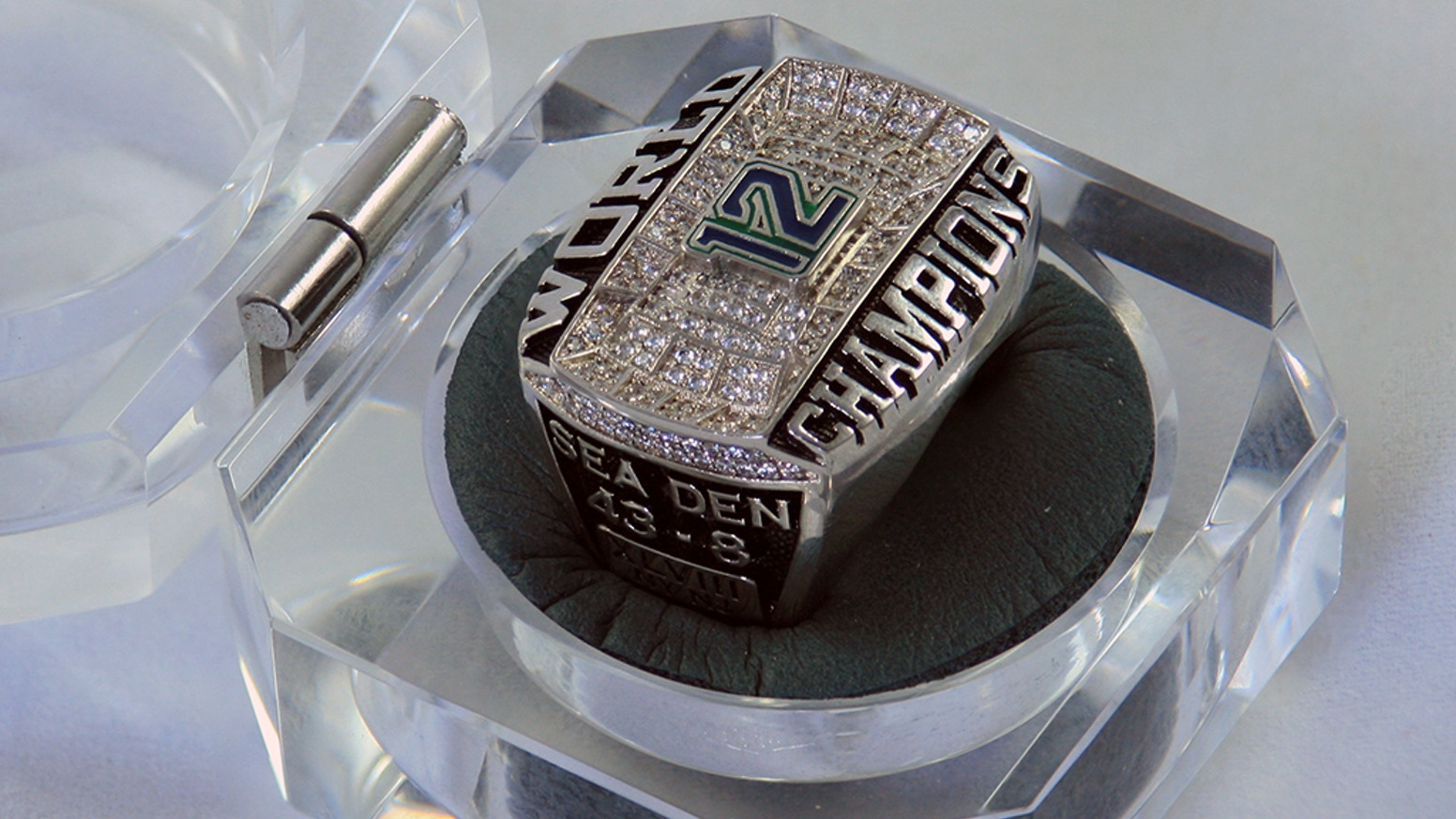 Super Bowl Championship Ring For The 12s By Cj Johnson