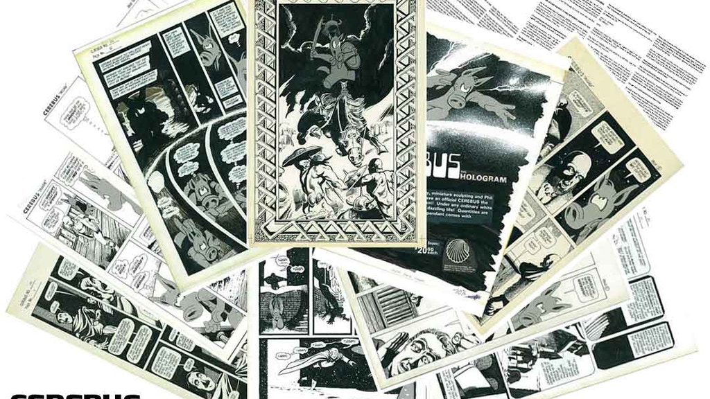 CEREBUS ARCHIVE NUMBER ONE project video thumbnail