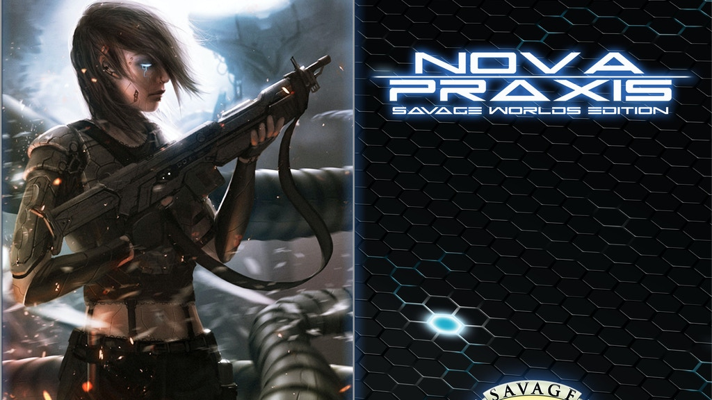 Nova Praxis - Savage Worlds Edition project video thumbnail