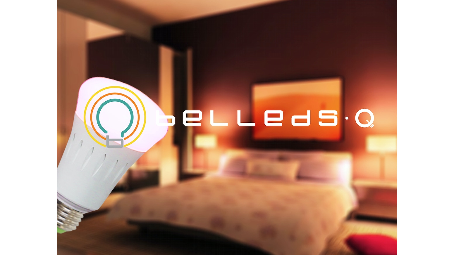 Led night light kickstarter - Our System Integrates Wireless Smart Led Bulbs With Streaming Music The Q Makes It Easy To Create And Share Your Own Light Shows