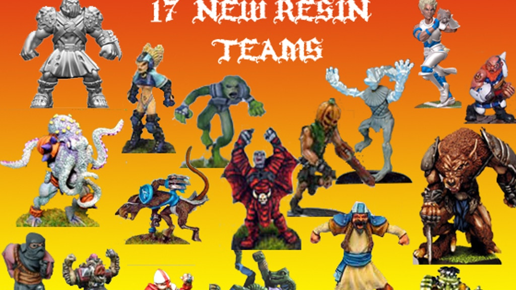 20 Fantasy Football teams - New Pro Elves & Orcs & 18 more project video thumbnail