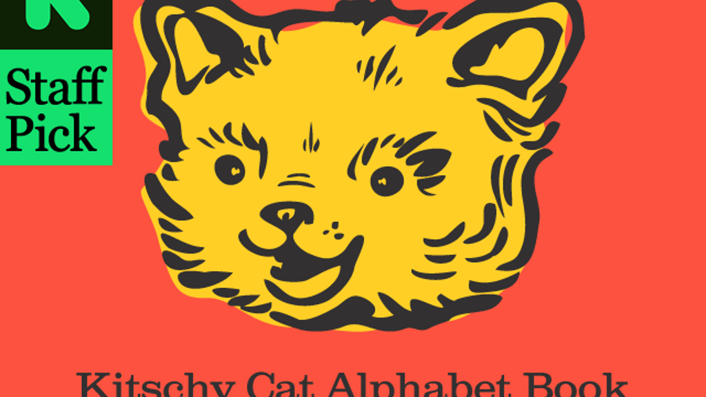 Kitschy Cat Alphabet postcard book project video thumbnail