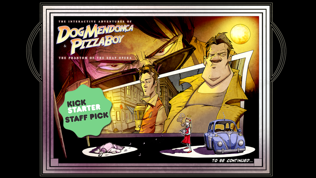 The Interactive Adventures of Dog Mendonça & Pizzaboy project video thumbnail