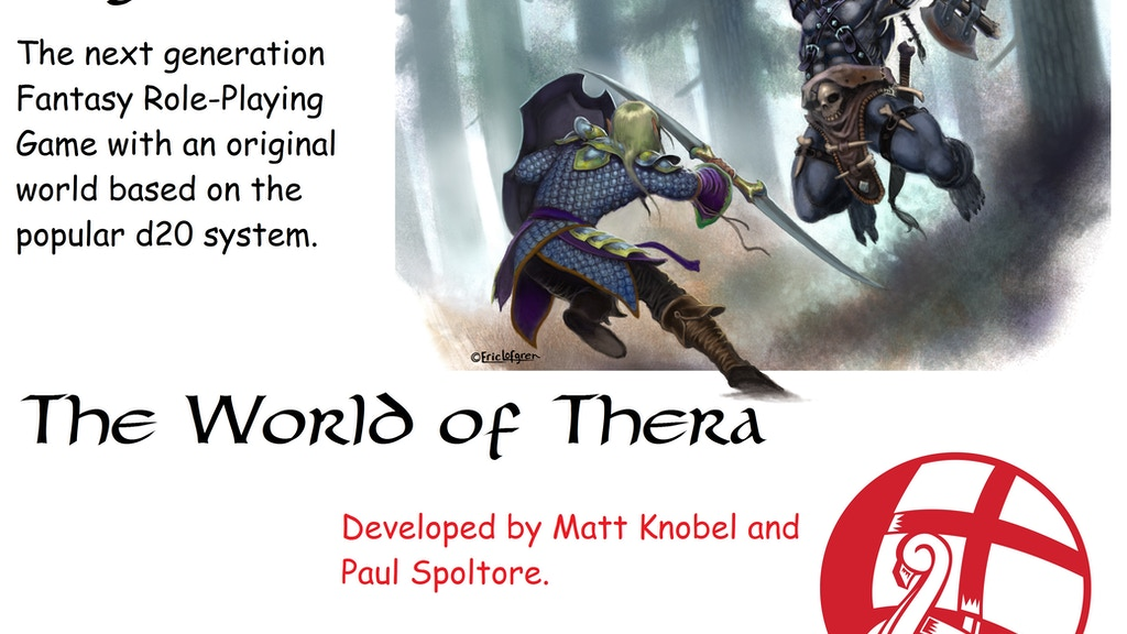 Project image for Legend: Fantasy RPG in the World of Thera