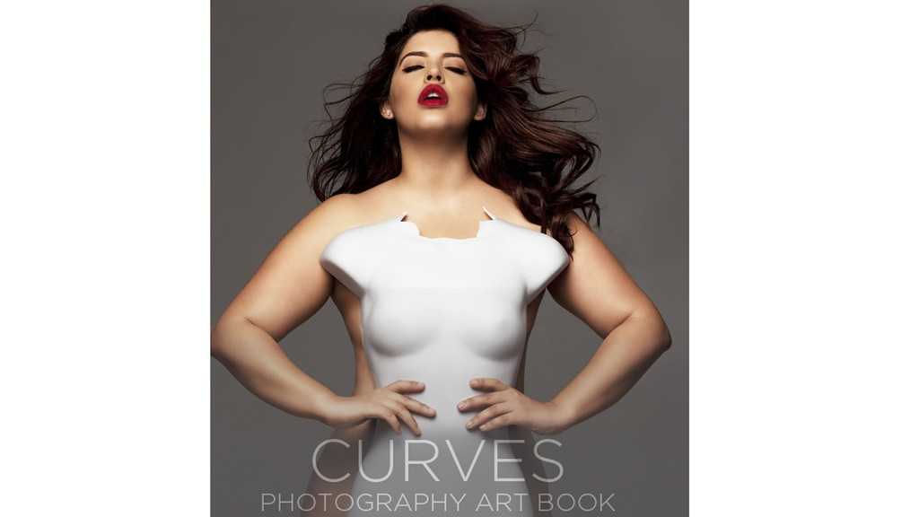 CURVES - art photography book project video thumbnail