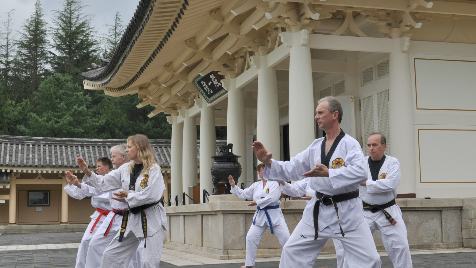 545763e8ae2c3 TAEKWONDO TRAINING IN KOREA - A DOCUMENTARY by Master Doug Cook ...
