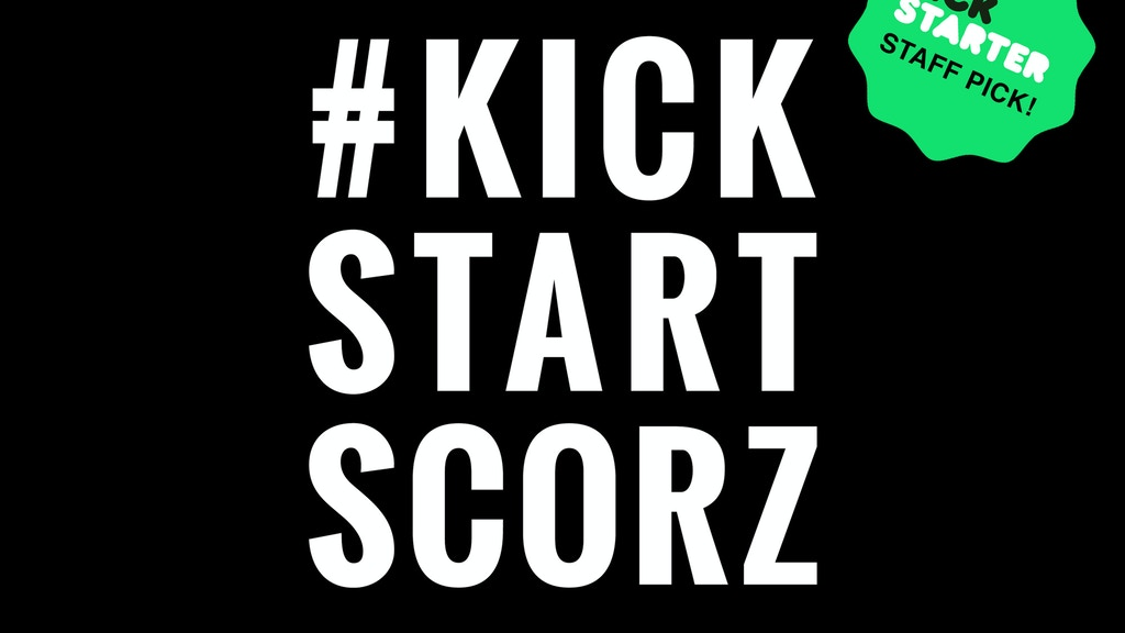 The Scorzayzee LP (#KickStartScorz) project video thumbnail