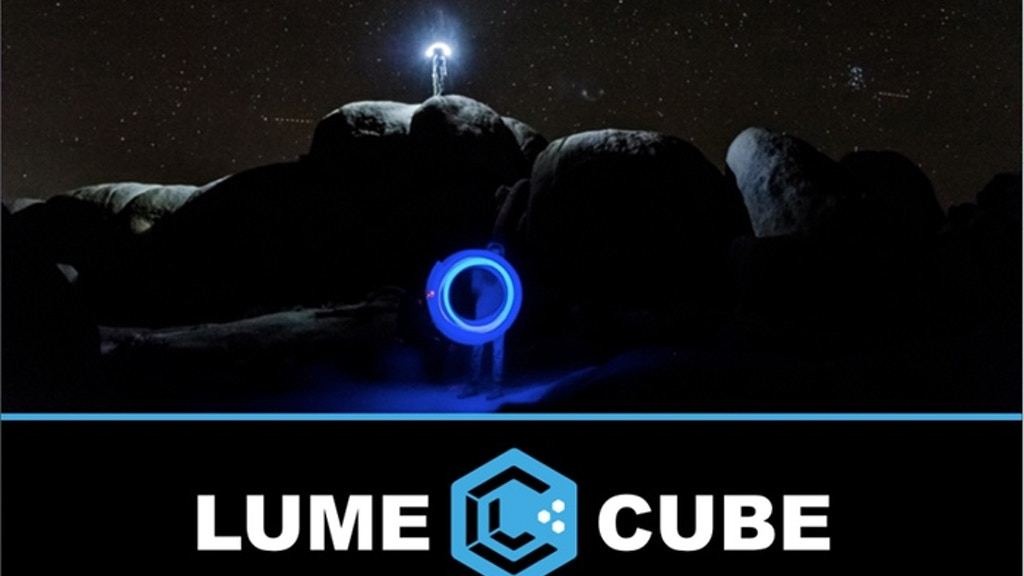 Lume Cube - Flash & Video Light for GoPro, iPhone & Android project video thumbnail