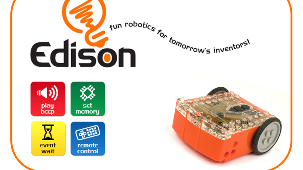 Edison - fun robotics for tomorrow's inventors! project video thumbnail