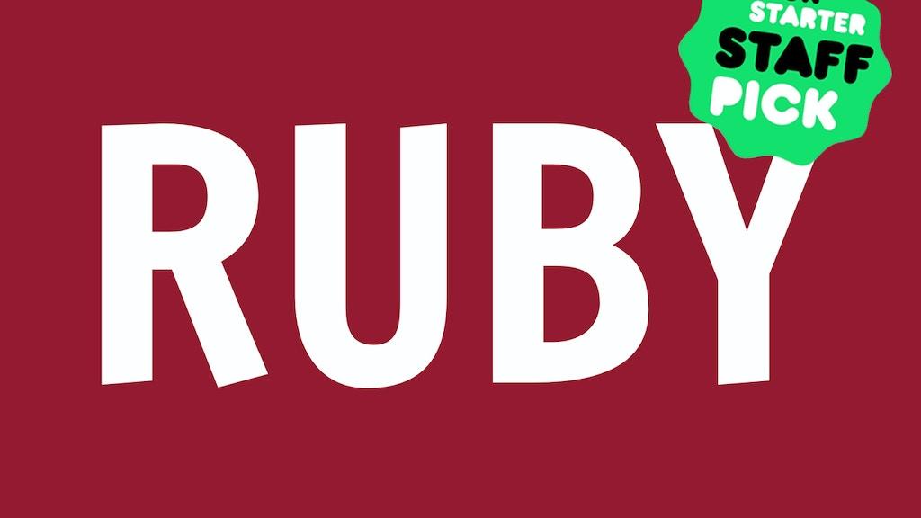 RUBY Magazine project video thumbnail
