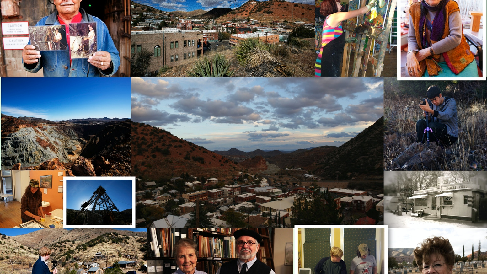 Interactive documentary exploring life in a Southwestern Borderlands community.