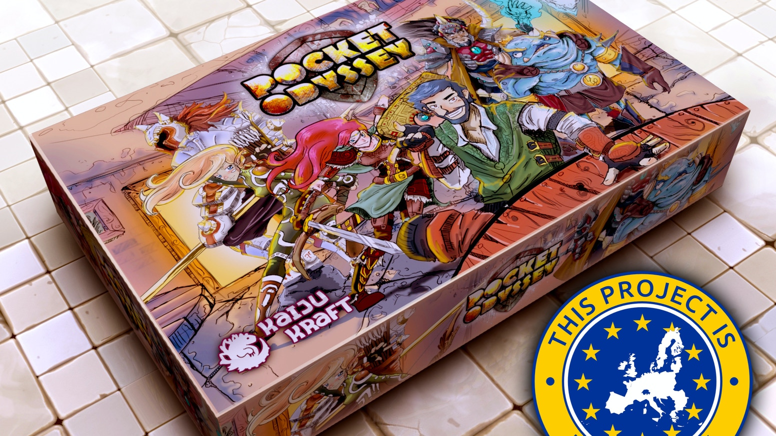 The first tabletop micro-RPG ever! No pen and paper needed just devilishly charming wit and an adventurous spirit!